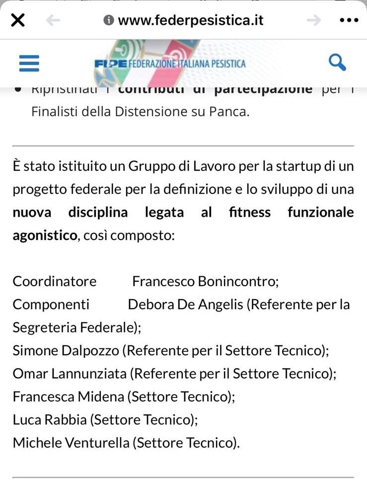 FIPE – RMG, con Simone e Francesca, è parte del Gruppo di Lavoro istituito per un nuovo Progetto Federale: STAY TUNED!